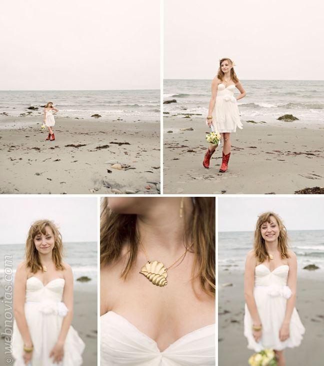 consejos de moda: vestidos de novia cortos | webnovias