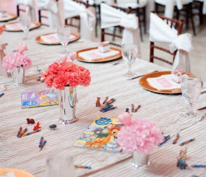 La mesa de los niños en tu boda ¡Sorpréndeles!