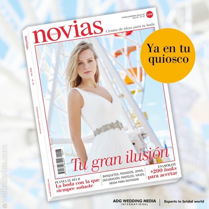 La revista Novias 47, ¡ya a la venta!