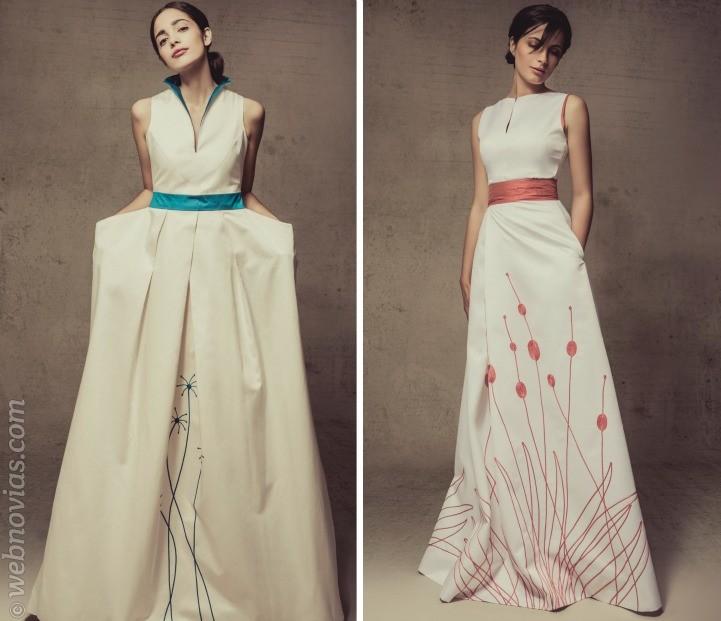 Las coloridas novias de Paloma del Pozo