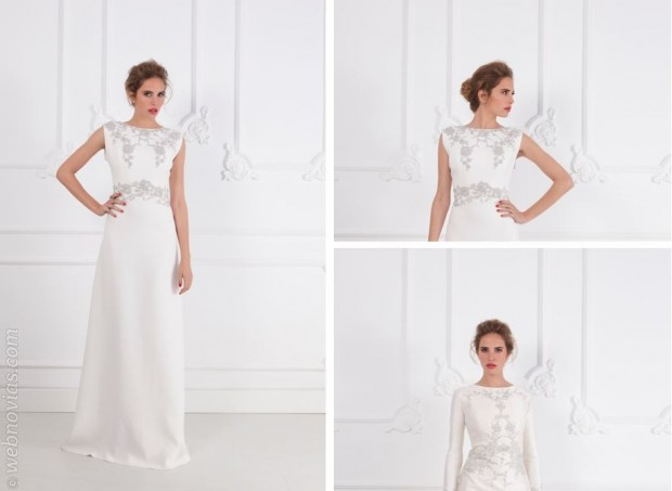 las novias elegantes de fernando claro | webnovias