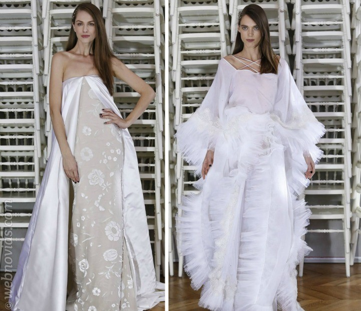Las novias de la Alta Costura 2016