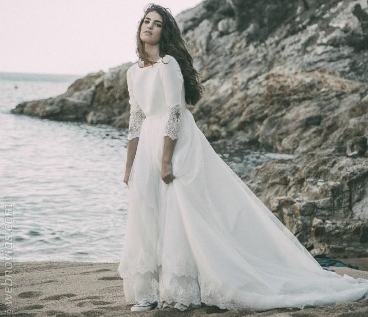 La colección nupcial de Carla Llagostera