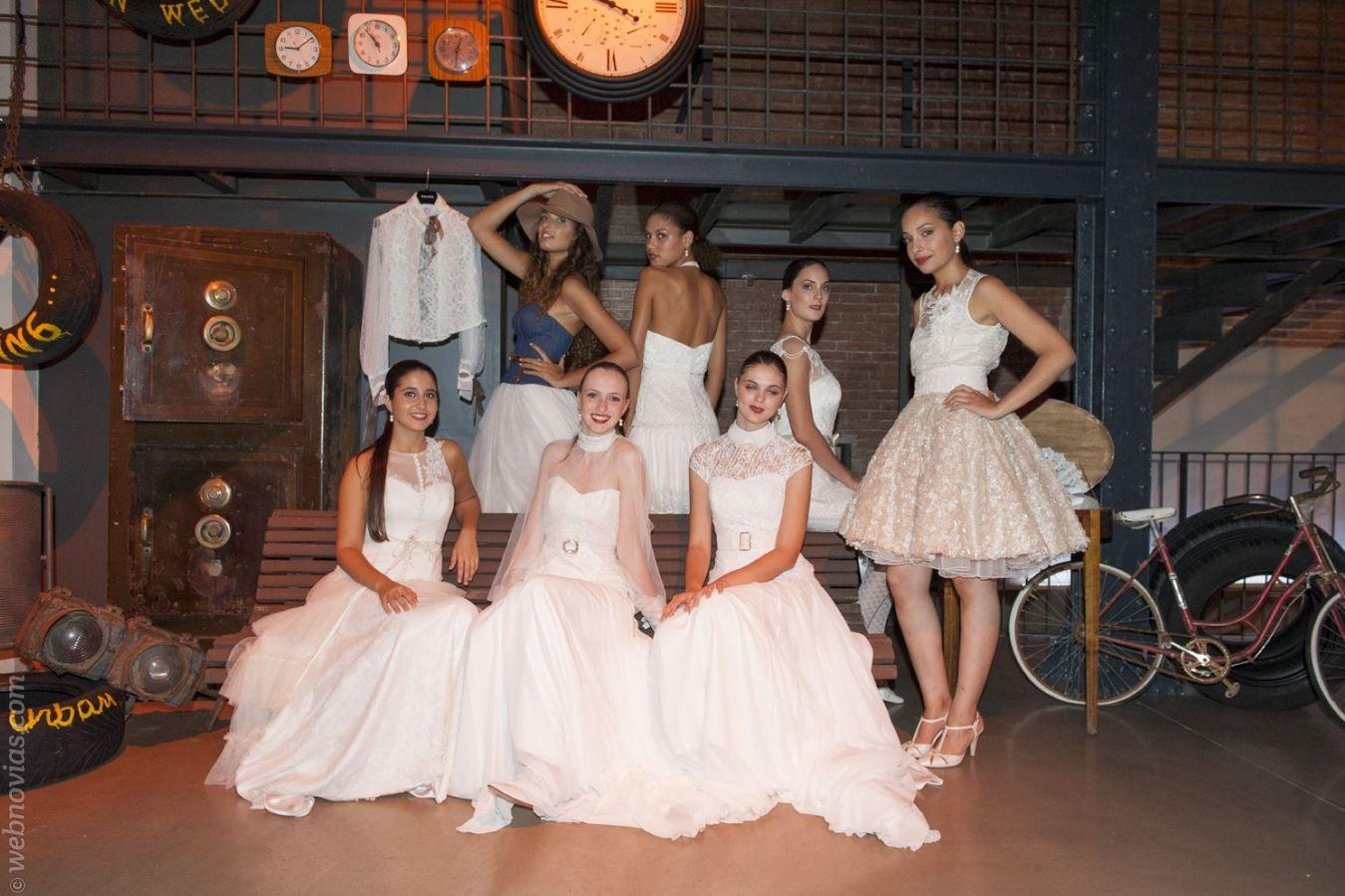 Las novias urbanas de Inmaculada García