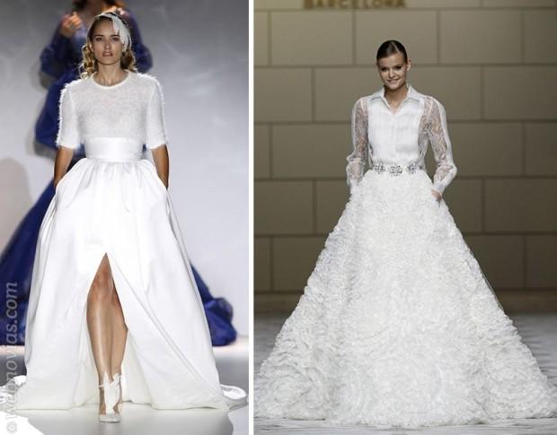 Las tendencias para novias que arrasan este 2015