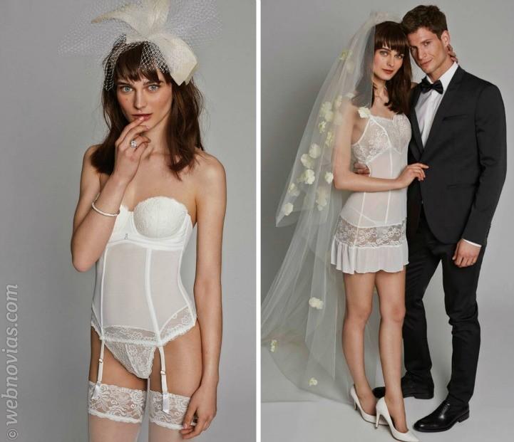 Lencería para las novias 2016 de la firma Promise