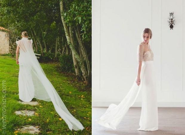 Los vestidos de novia artesanales de Boüret