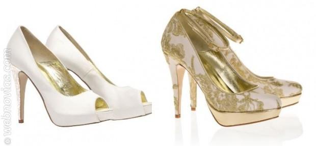 Los zapatos de novia de Freya Rose 2015