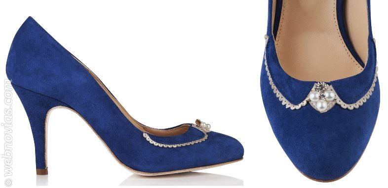 Los zapatos de novia de Rachel Simpson