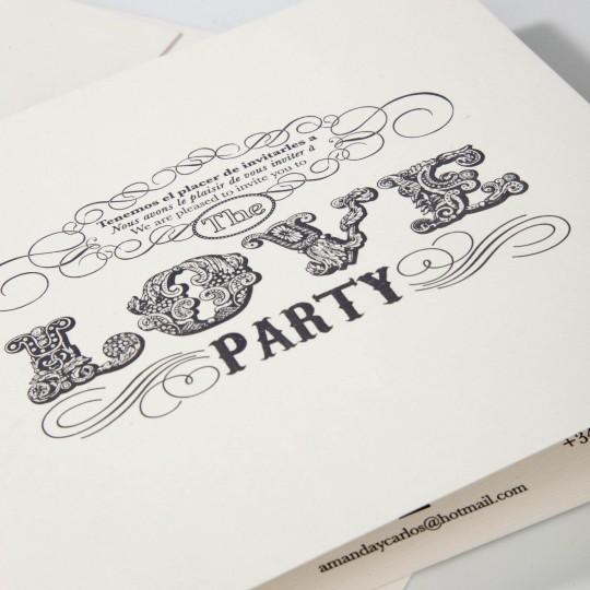 ¡¡Estáis invitados a la boda!