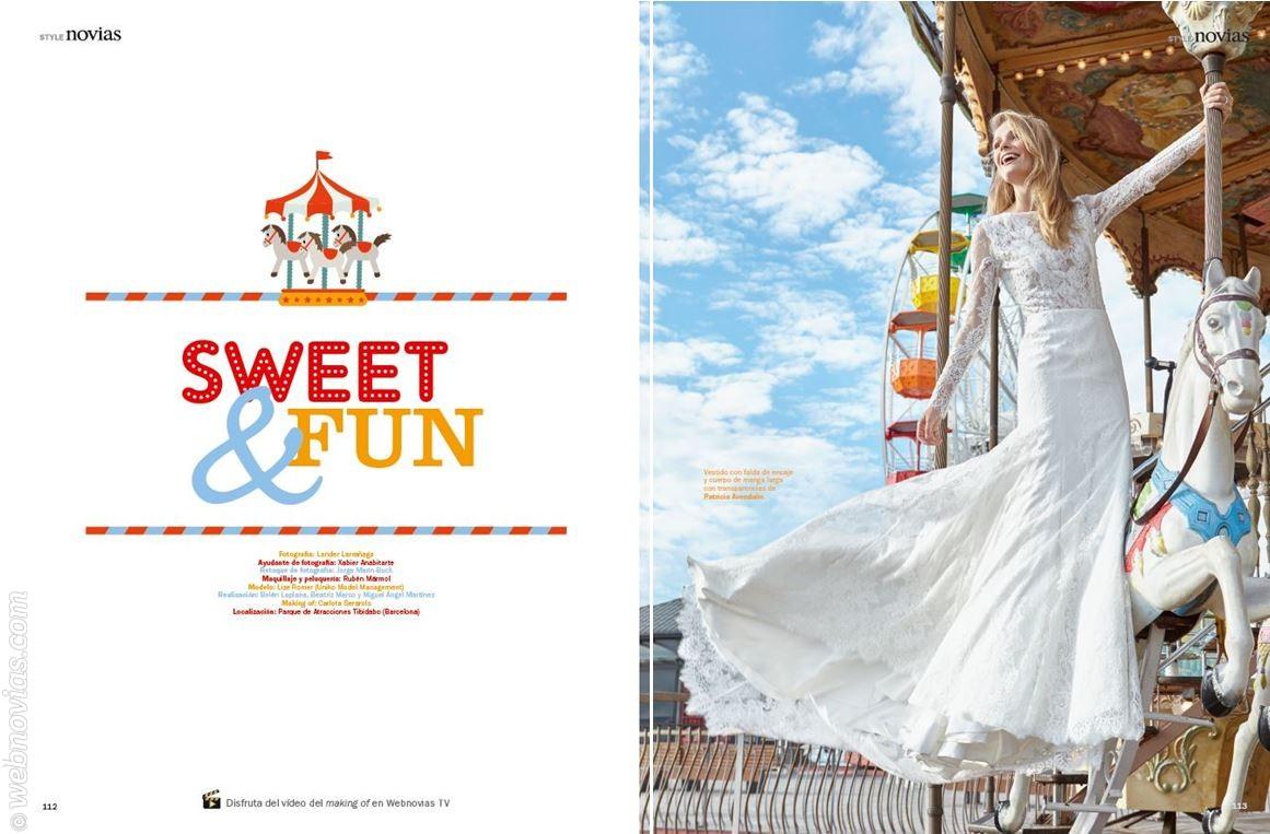"""Revista Novias: así se hizo """"Sweet&Fun"""""""