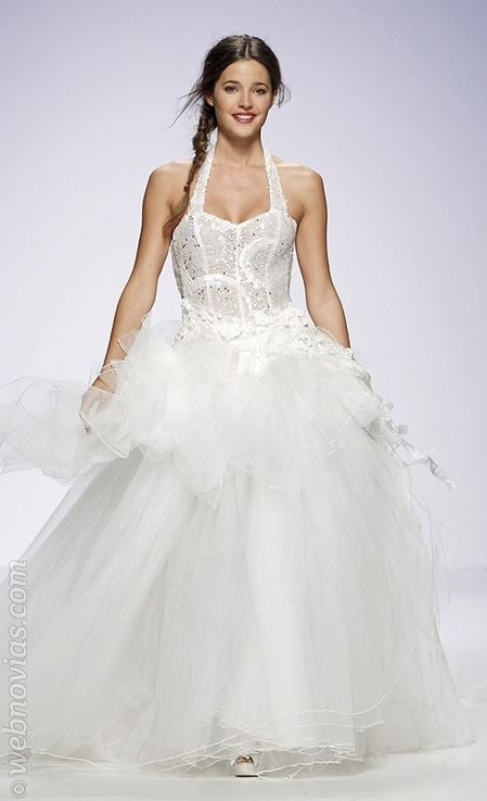 Malena Costa vestida de novia 2