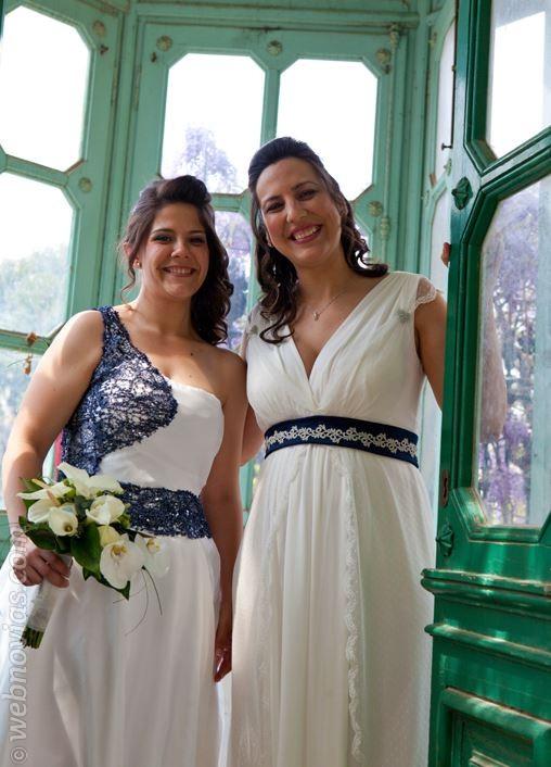Mireia y Meri, novias con estilo único