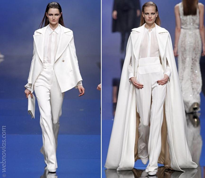 Consejos de moda: Novias con pantalón