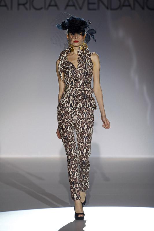 Vestido de fiesta de Patricia Avendaño 2012