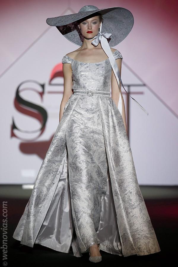 Vestido de fiesta de Sonia Peña 2017(3)