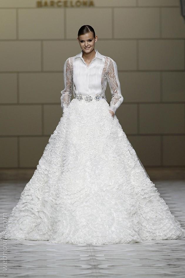 Vestido de novia de Pronovias 2015