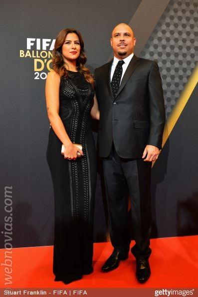 Ronaldo y Paula Morais