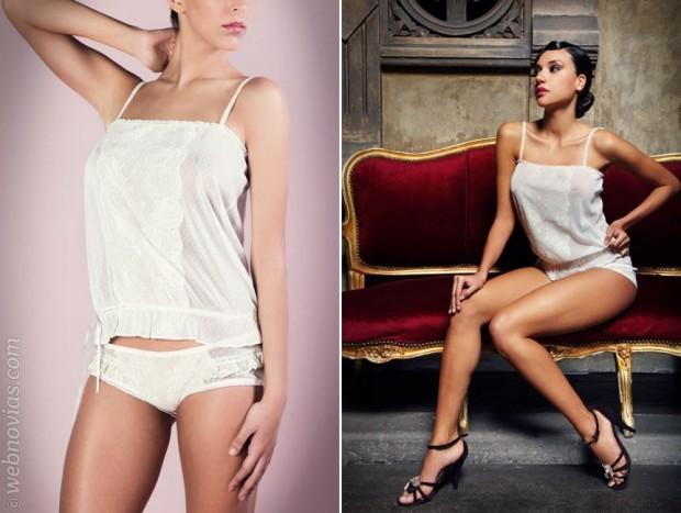 Rosario Puñales: lencería vintage para novias