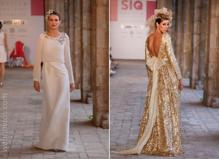 SIQ Sevilla Vestidos de novia de Javier García y Carmen Prieto
