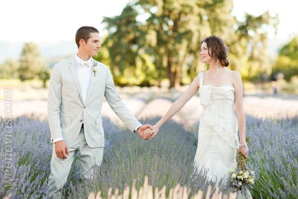 Decora tu boda con lavanda