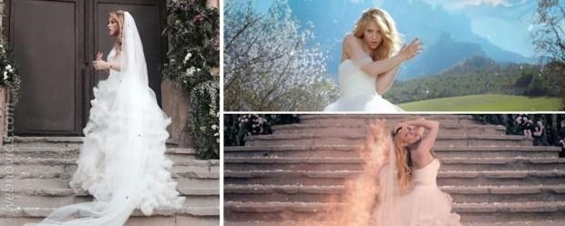 Shakira vestida de novia