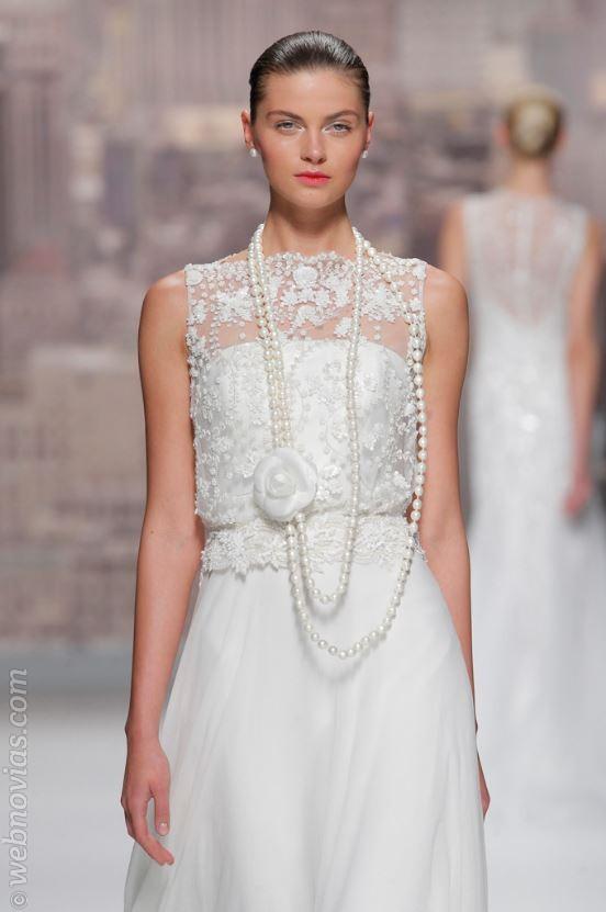 Tendencias peinados de novia 2015