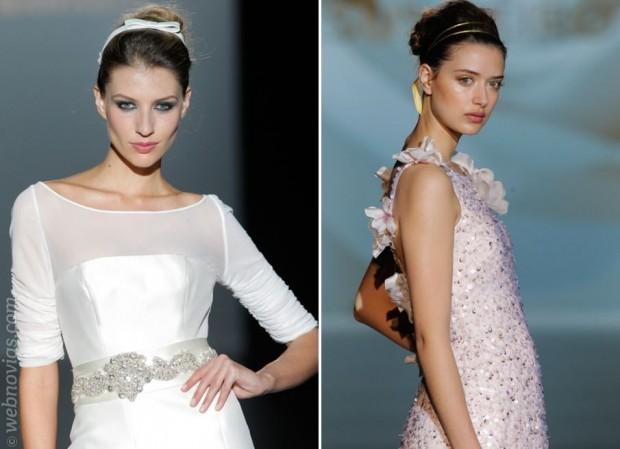 Tendencias: peinados de novia 2015