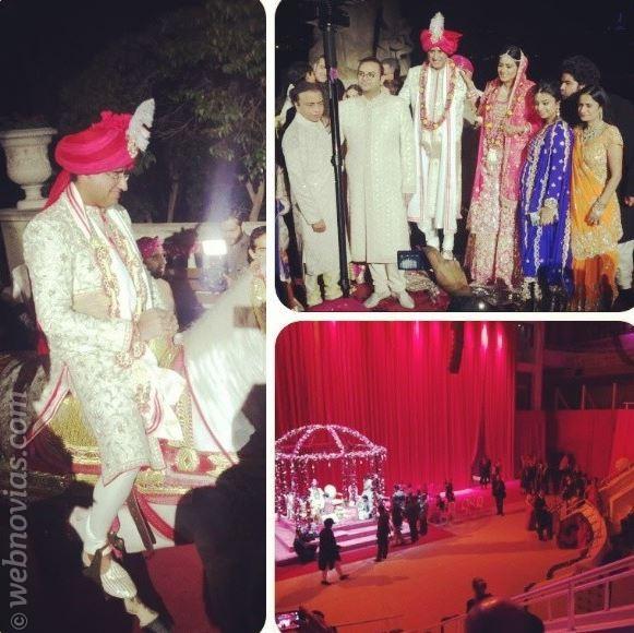 Lujo y color en la boda del clan Mittal