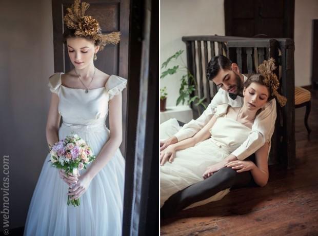 Una romántica boda con estilo vintage