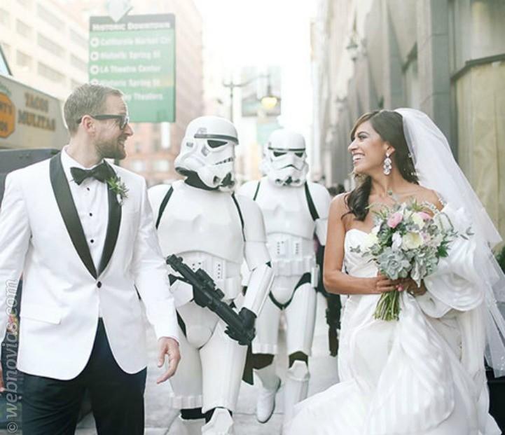 Una boda inspirada en Star Wars