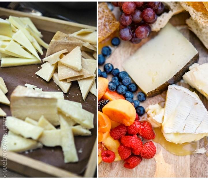 Una tabla de quesos el aperitivo perfecto