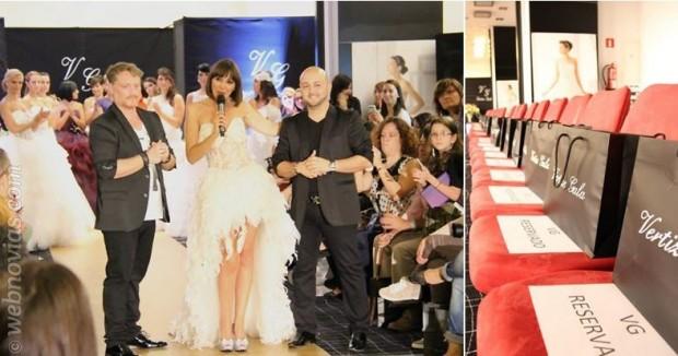 Desfile de Vertize Gala en Madrid