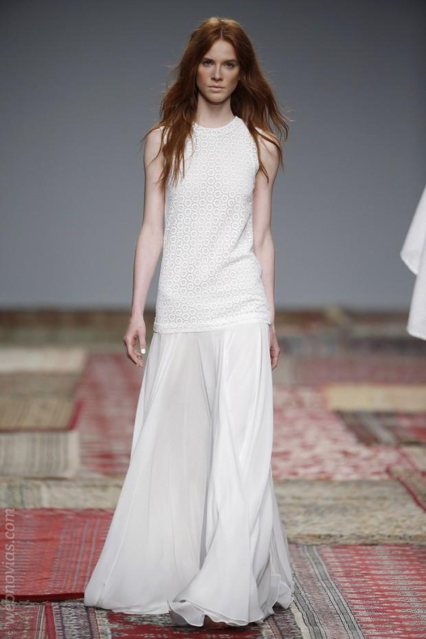 Vestido de novia de Houghton 2016
