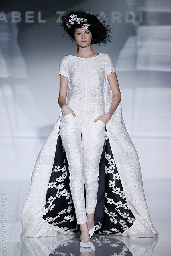 Vestido de novia de Isabel Zapardiez 2017