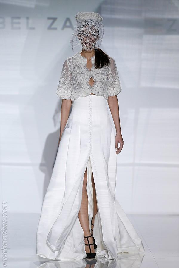 Vestido 2017 de Isabel Zapardiez