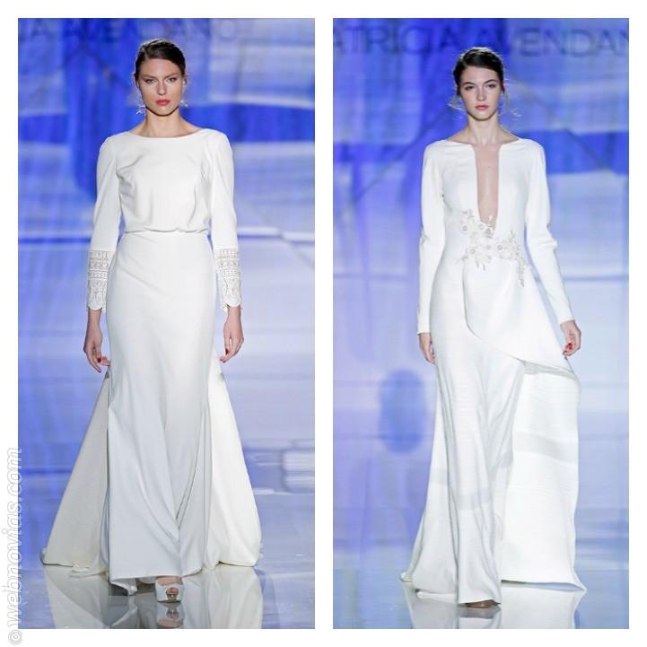 Vestido de novia de Patricia Avendaño 2017