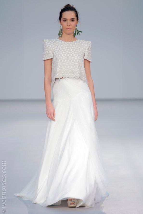 Vestido de novia de Pol Núñez