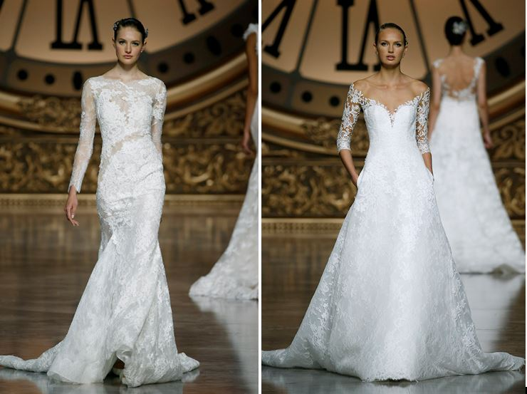 Vestido de novia de Pronovias 2016