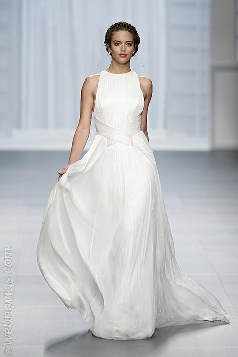 Vestido de novia de Rosa Clará 2016
