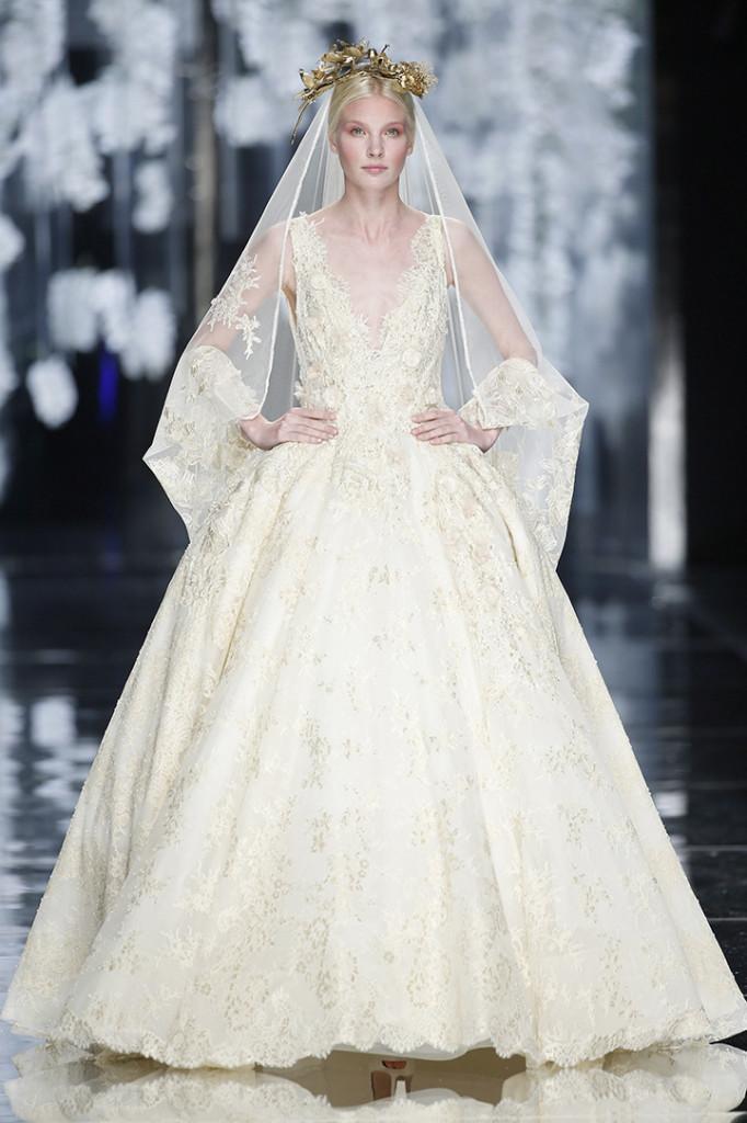 Vestido de novia de YolanCris 2016