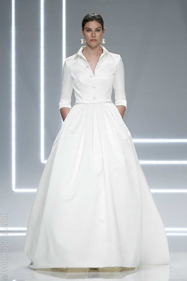 Vestido de novia de Rosa Clará 2017.