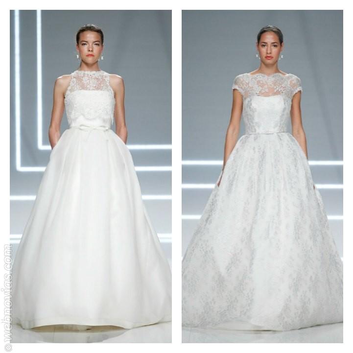Vestido de novia de Rosa Clará 2017