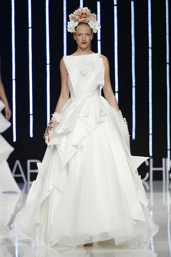Vestidos 2017 de Isabel Sanchis