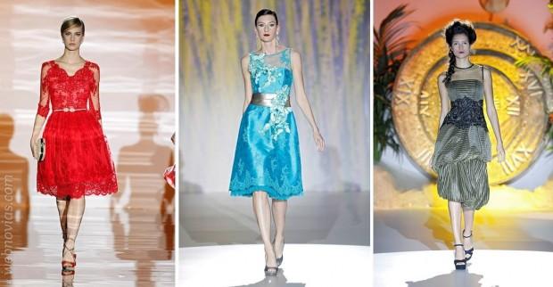 Tendencias 2015: Invitadas con falda midi
