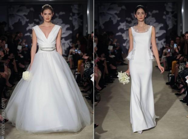 Vestidos de novia 2015 de Carolina Herrera
