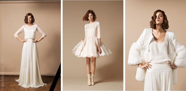 Abrigo para vestido de novia