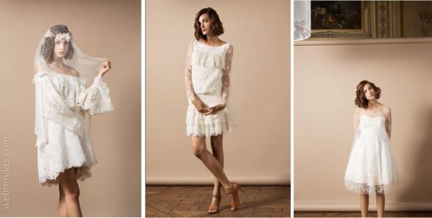 Vestidos de novia Delphine Manivet para el 2014