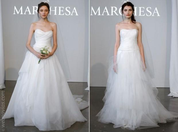 Marchesa y sus vestidos de novia 2015