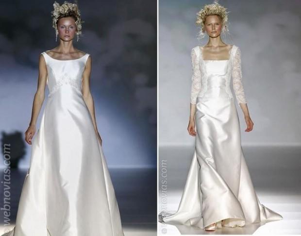 consejo de moda: vestidos de novia años 90 | webnovias